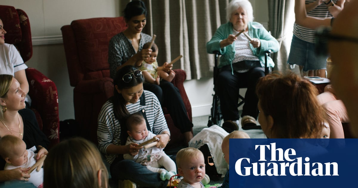 Children in care homes: 'It makes residents feel more human