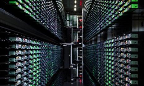 Google Data Center in Berkeley County, South Carolina.