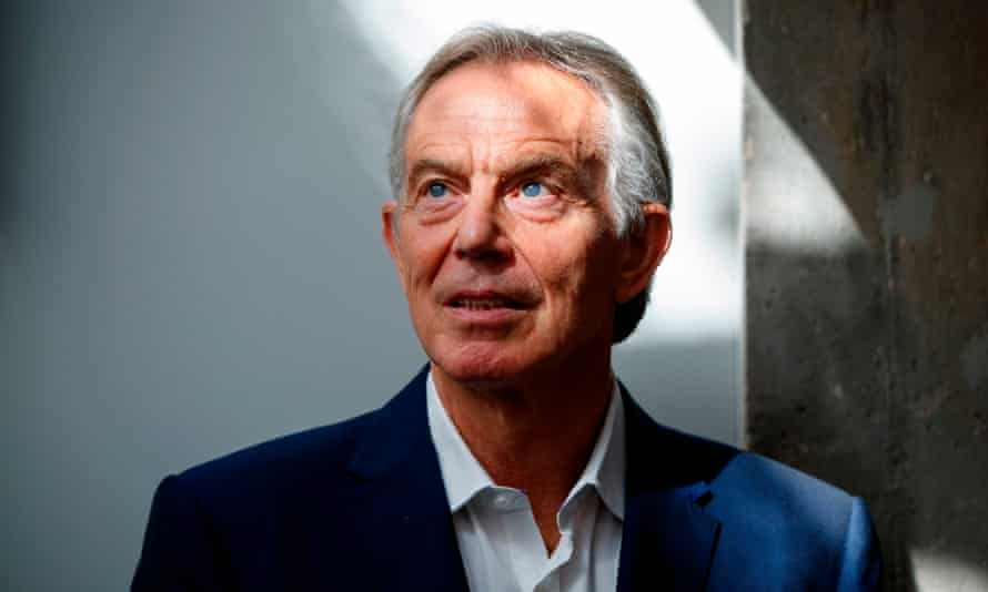 Former prime minister Tony Blair says he won't reveal his own choice of new party leader lest it spoil their chances.