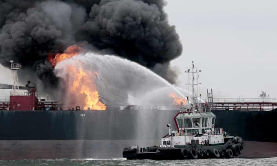 pemex tanker fire