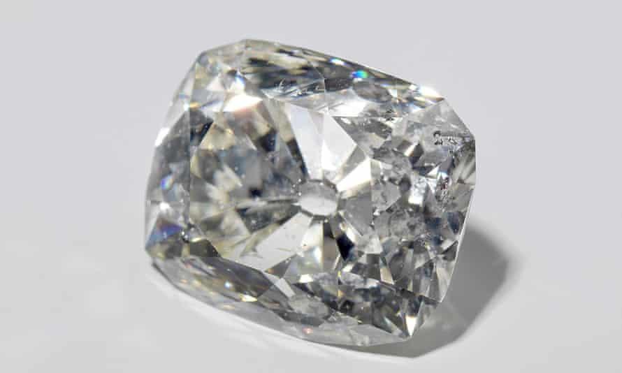 A 70-carat diamond that belonged to the Sultan of Banjarmasin.