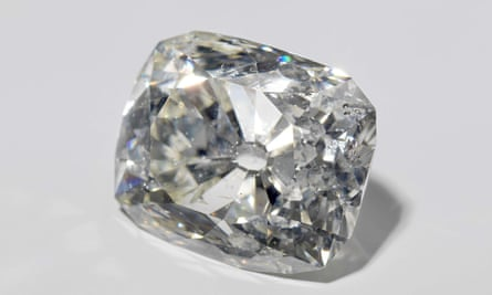 A 70-carat diamond that belonged to the Sultan of Banjarmasin.