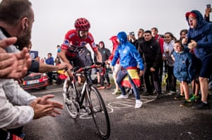 Froome in action during stage 17 of this year's Vuelta.
