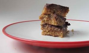 Millionaire's shortbread according to Alessandra Peters' recipe