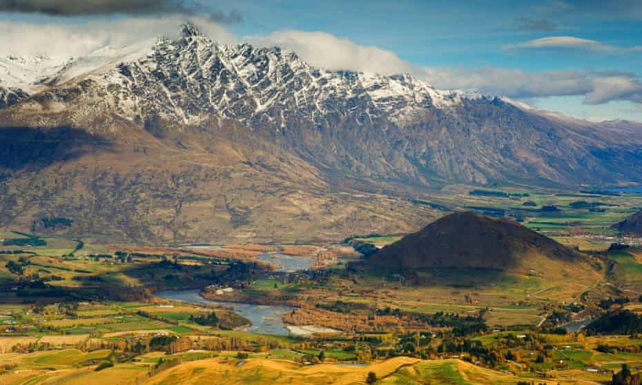 Remarkable Mountains and Valley, Queenstown, Otago, New Zealand.