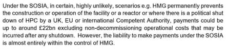 Text of the contract between the UK government and EDF for Hinkley Point C
