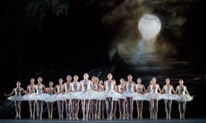 There will be tears … Swan Lake, designed by John Macfarlane.