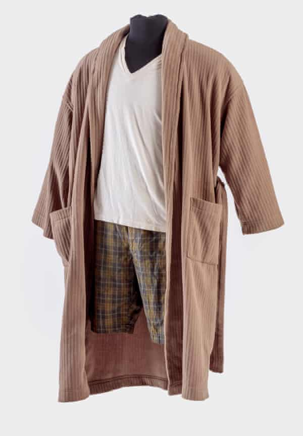 el conjunto de vestido que usó Jeff Bridges como el tipo en The Big Lebowski (1998).