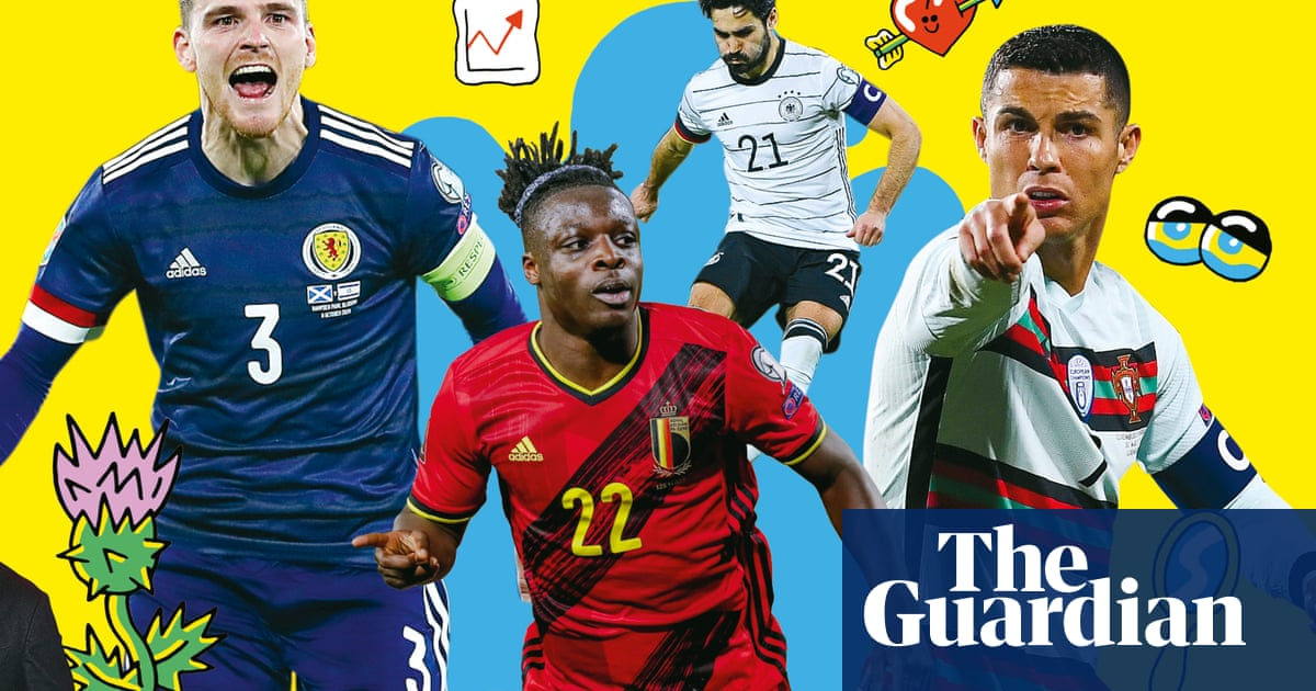 Getting shirty: which Euro 2020 team has the best kit?