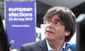 'It happens that neither Mr Puigdemont [pictured] nor Mr Comín wanted to come to Spain, to avoid being accountable to justice,' writes Delores Delgado.
