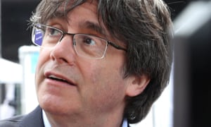 MEP and former Catalan president Carles Puigdemont