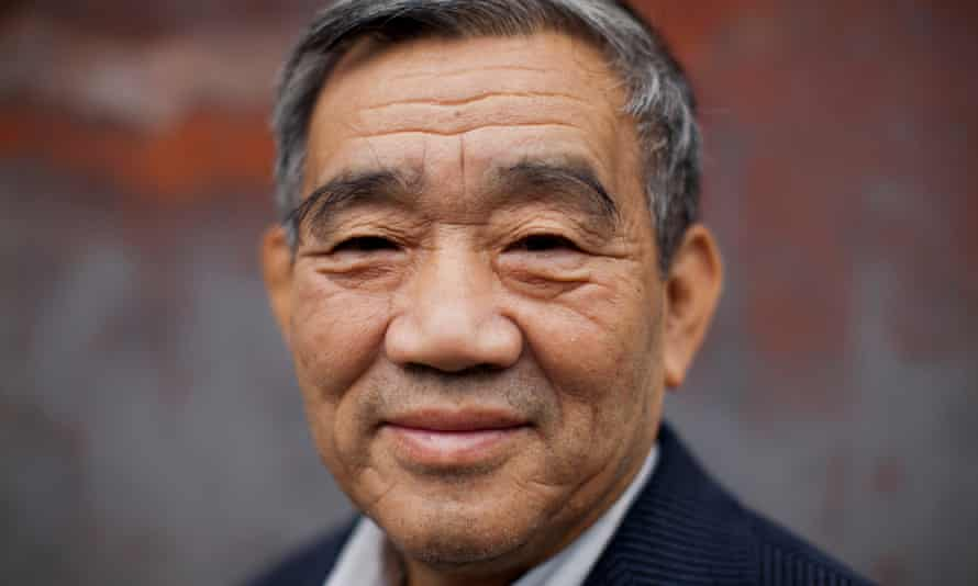 Author Yang Jisheng had hoped to travel to Massachusetts to collect the award for his 2008 book Tombstone.