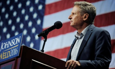 Libertarian candidate Gary Johnson gained over 3% of the popular vote, with most of the ballots now counted.