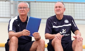 Claudio Ranieri and his assistant Steve Walsh