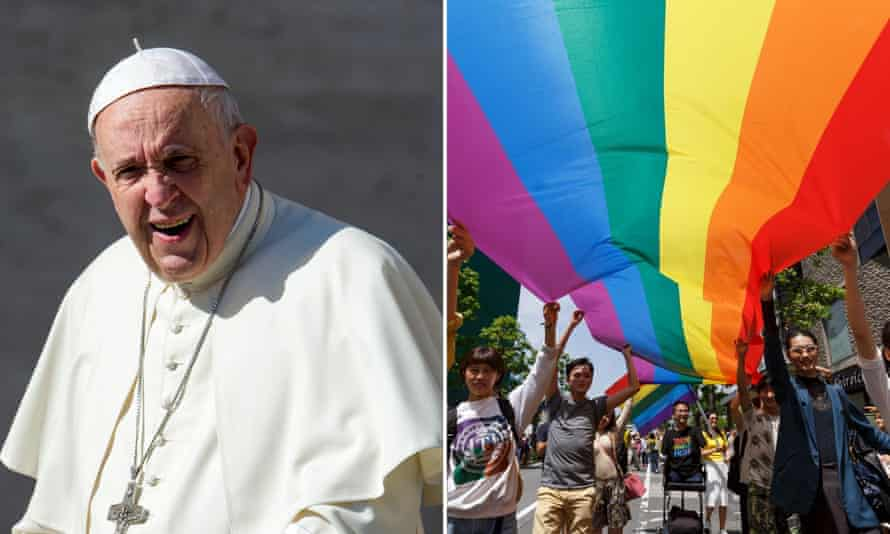 Pope Francis has reached out to LGBT people.