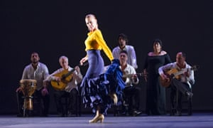 Charo Espino in Alegria from Flamencura by Paco Pena Dance Company at Sadler's Wells