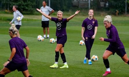 England women's football