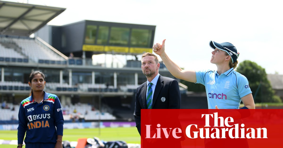 England v India: second women's one-day international – live!