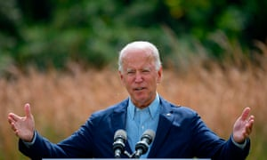 Biden said of Trump: 'If you give a climate arsonist four more years in the White House, why would anyone be surprised if we have more of America ablaze?'