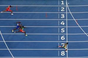 Rio Olympics 2016: drama in 400m and David Rudisha wins 800m
