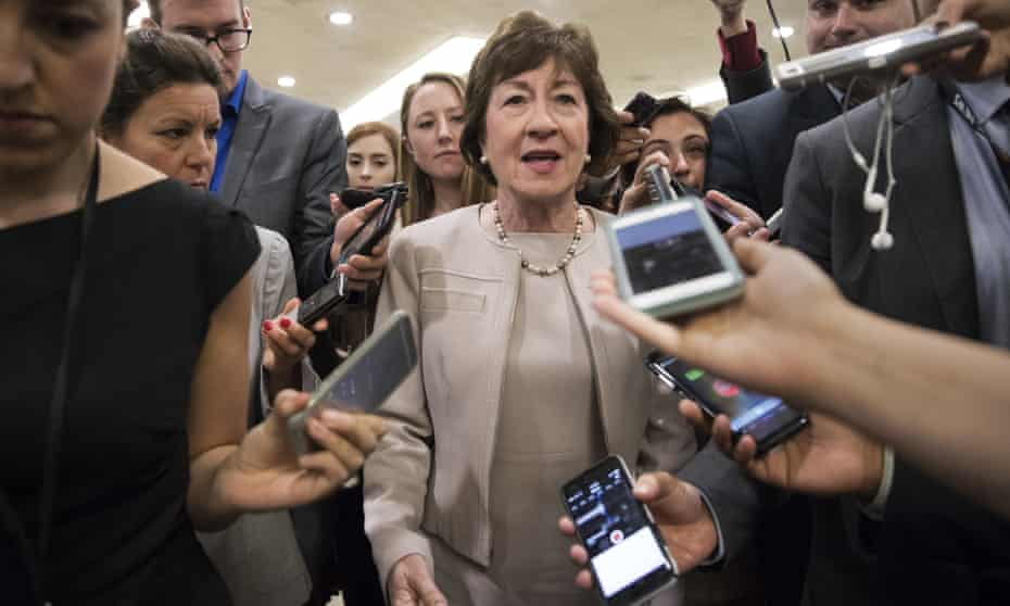 Susan Collins said the bill would have a 'substantially negative impact'.