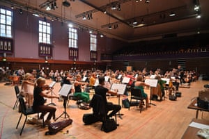 The Proms Festival Orchestra at Watford Colosseum on Monday 6 Sept. 2021 Photo by Mark Allan