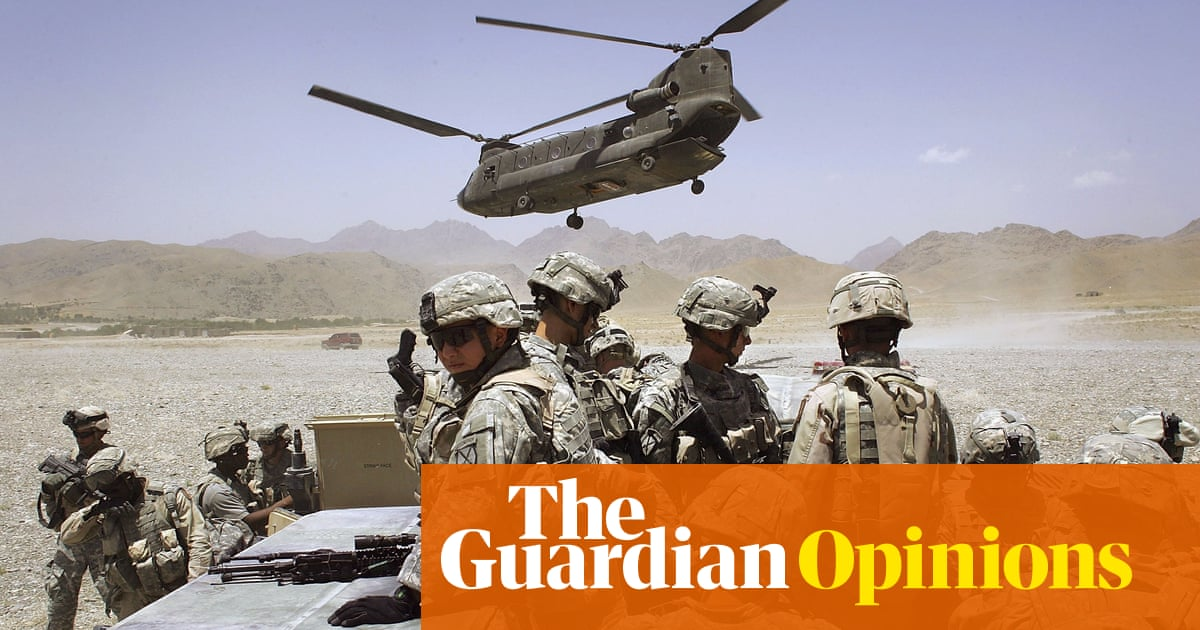 The west's nation-building fantasy is to blame for the mess in Afghanistan