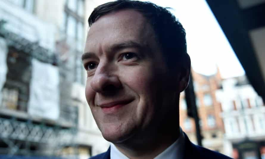 George Osborne, who May sacked as chancellor.