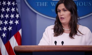Sarah Sanders said the White House 'advance team' was already on the ground in Singapore.