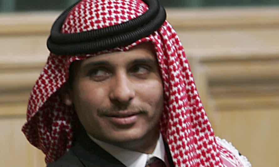 Prince Hamzah in 2006