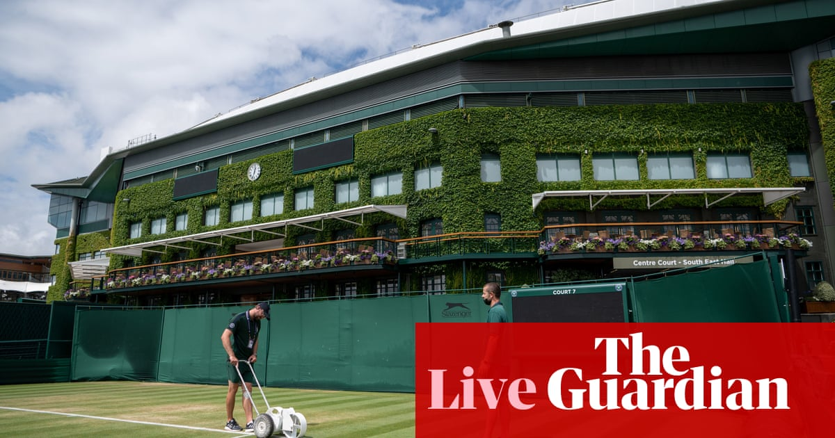 Wimbledon 2021: Sabalenka and Swiatek in early action on day seven – live!