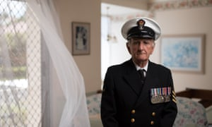 Alan Hellier was the last to escape the bow section of HMAS Voyager which sank after being hit by HMAS Melbourne on 10 February 1964.