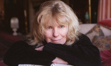 Carla Lane at home in Sussex, 1999.