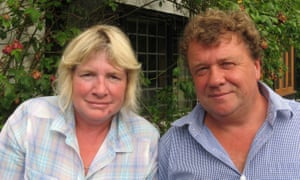 Darrell Houghton and Jacqueline Judge of DJ Houghton Chicken Catching Services