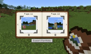 Pupils can use the new in-game camera to take snapshots and selfies