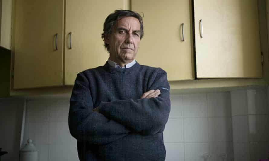 French philosopher Emannuel Todd in his Paris apartment.