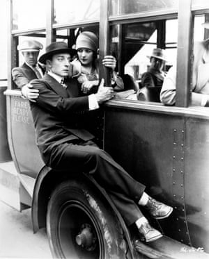 Buster Keaton and Marceline Day in The Cameraman, 1928.