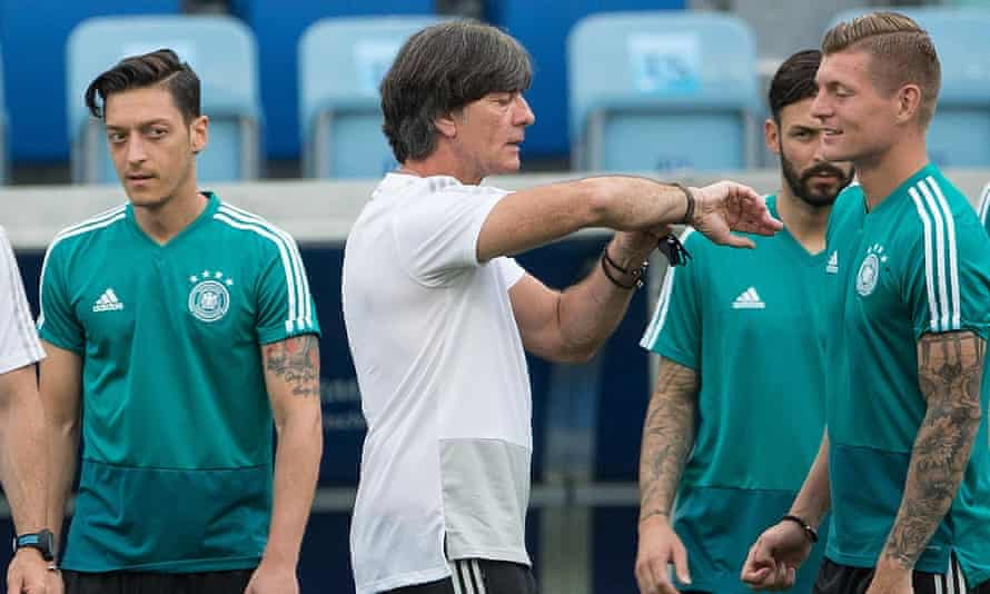 Joachim Löw has had to galvanise his Germany squad after the 1-0 defeat to Mexico last weekend.