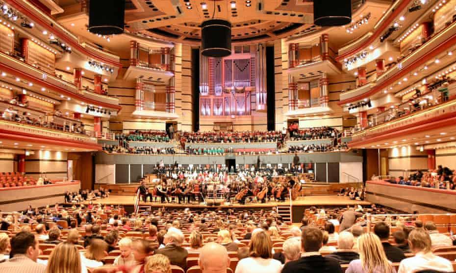 Birmingham Symphony Hall, home to the world-famous City of Birmingham Symphony Orchestra.
