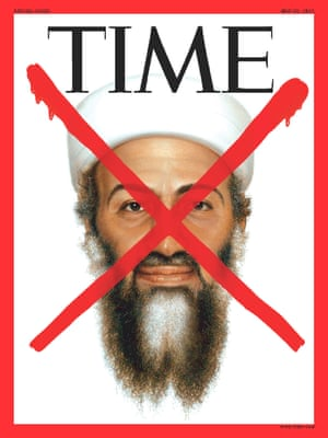 The cover of a special edition of TIME magazine devoted to the death of Osama bin Laden is seen in this image released by TIME Inc. in New York May 20, 2011.