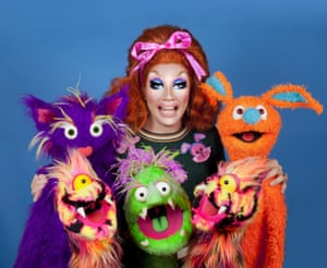 Ginger Johnson, appearing at the fringe with Happy Place.