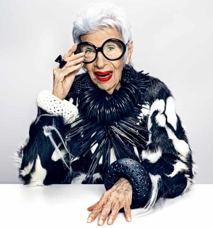 Iris Apfel: 'My greatest achievement? Lasting this long' | Design | The  Guardian