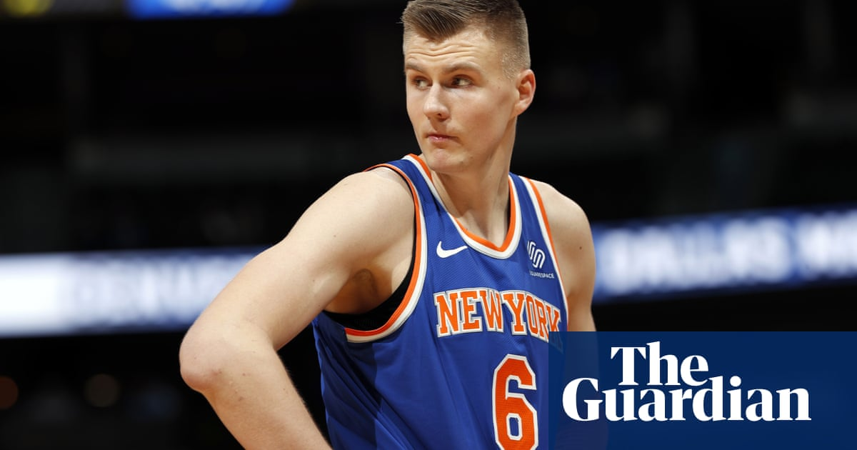 1ebe6f62b Knicks and Mavericks agree trade for  unicorn  Kristaps Porzingis ...