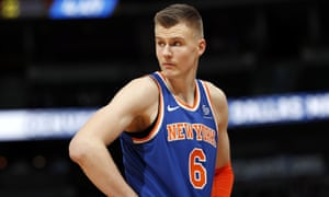 Kristaps Porzingis was named an All-Star for the first time in 2018