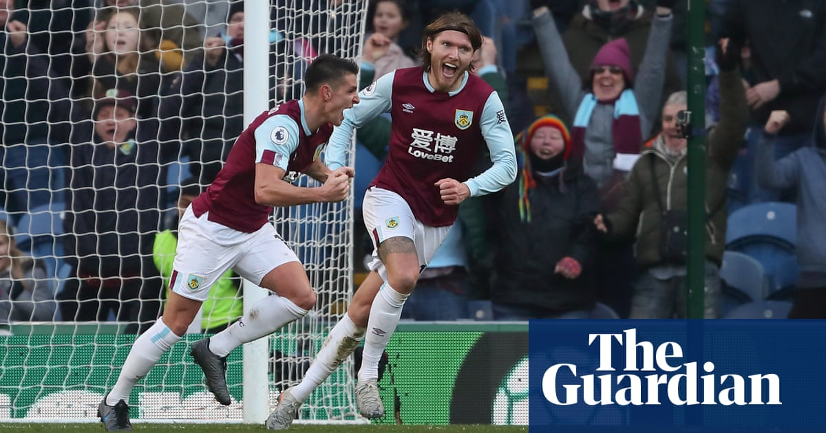 Westwood seals Burnley comeback win over Leicester after Vardy penalty miss