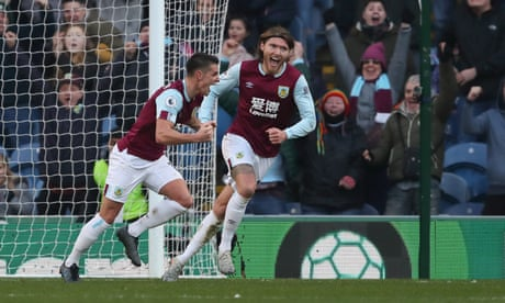 Ashley Westwood winner completes Burnley's turnaround against Leicester