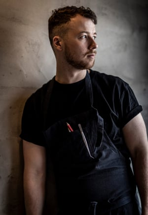 Cooking to thrill: chef Cúán Greene.