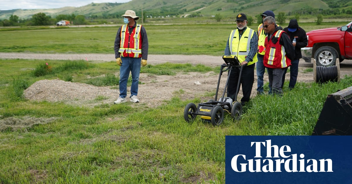 Canada First Nation chiefs ask for reckoning after 751 unmarked graves discovered – video
