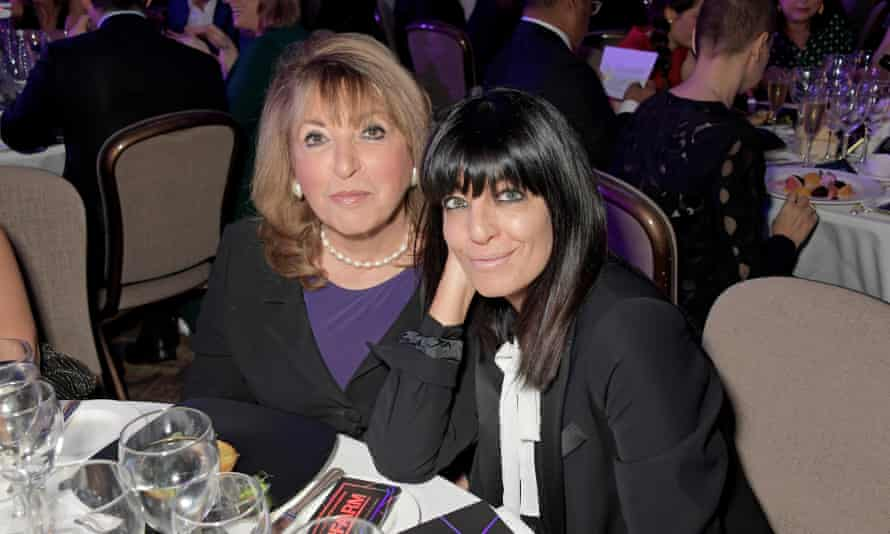 Winkleman with her mother, Eve Pollard, at the Women in Film and TV awards, 2019.