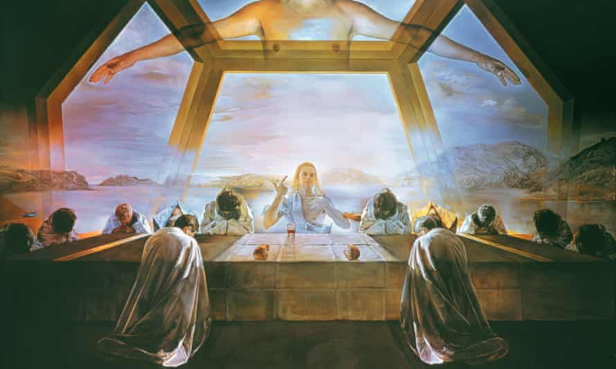The Sacrament of the Last Supper, Salvador Dali, 1955, National Gallery of Art, Washington DC, US
